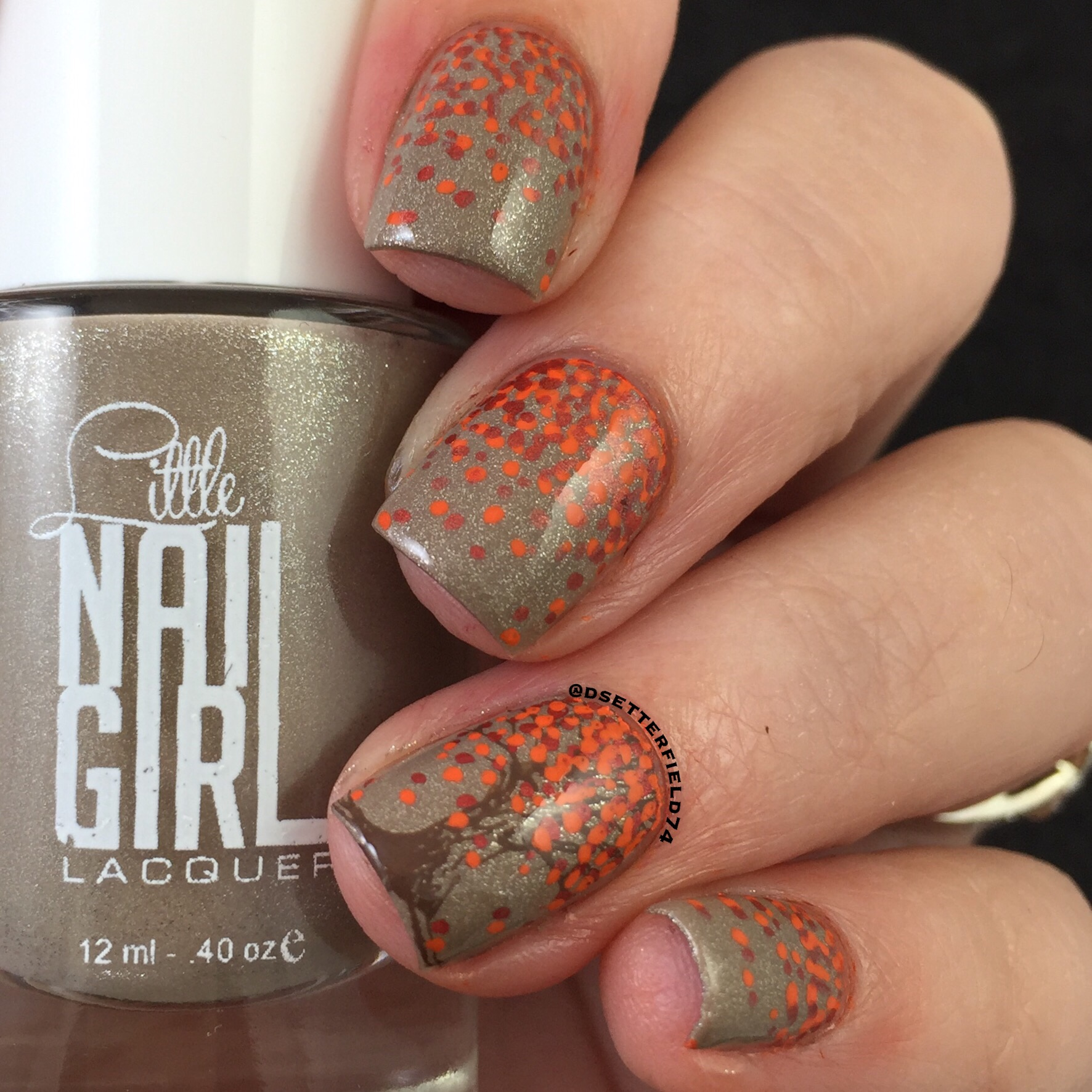 Little Nail Girl: Flashes of Fall Collection | Snacks On Rotation