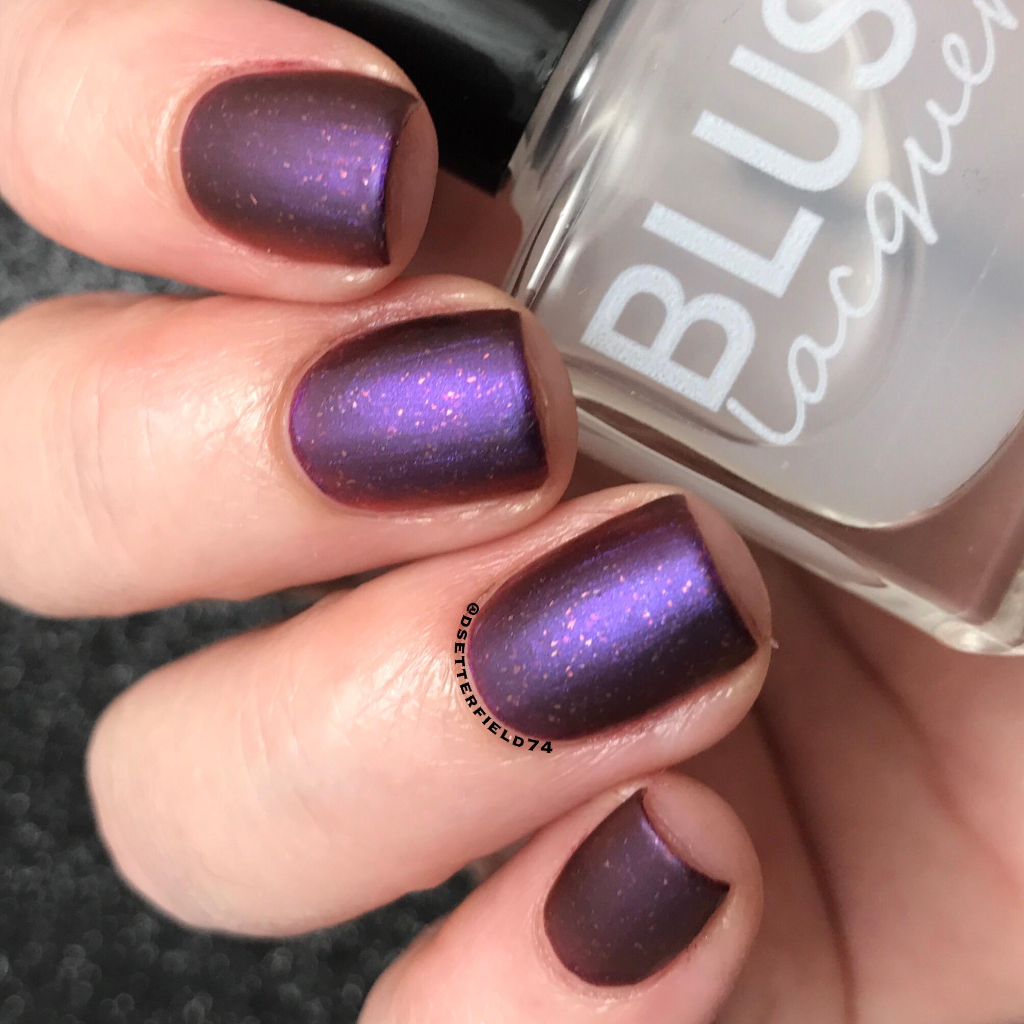 Blush Lacquers: Matterial Girl Matte Top Coat (plus two nail polish ...