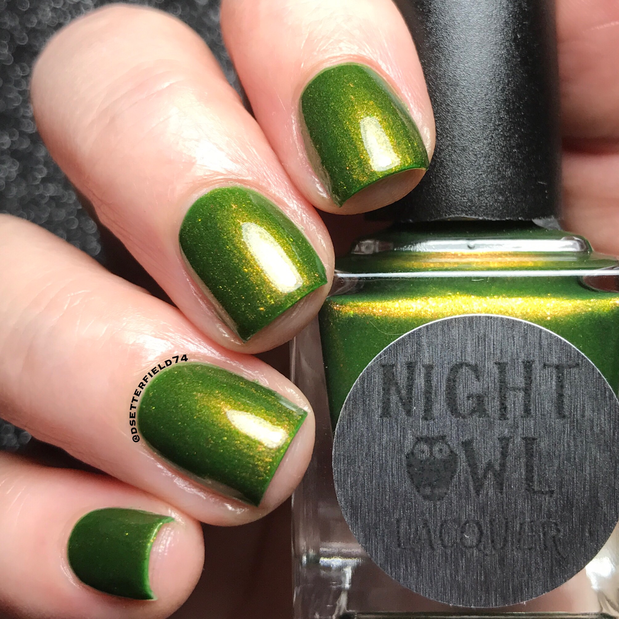 Night Owl Lacquer: Dreaming of Green Collection | Snacks On Rotation