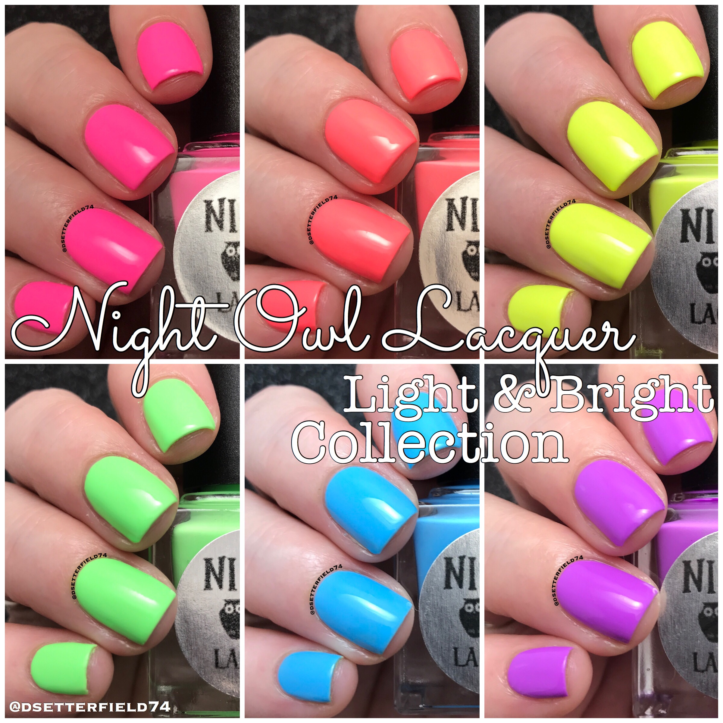 Night Owl Lacquer: Light & Bright Collection | Snacks On Rotation