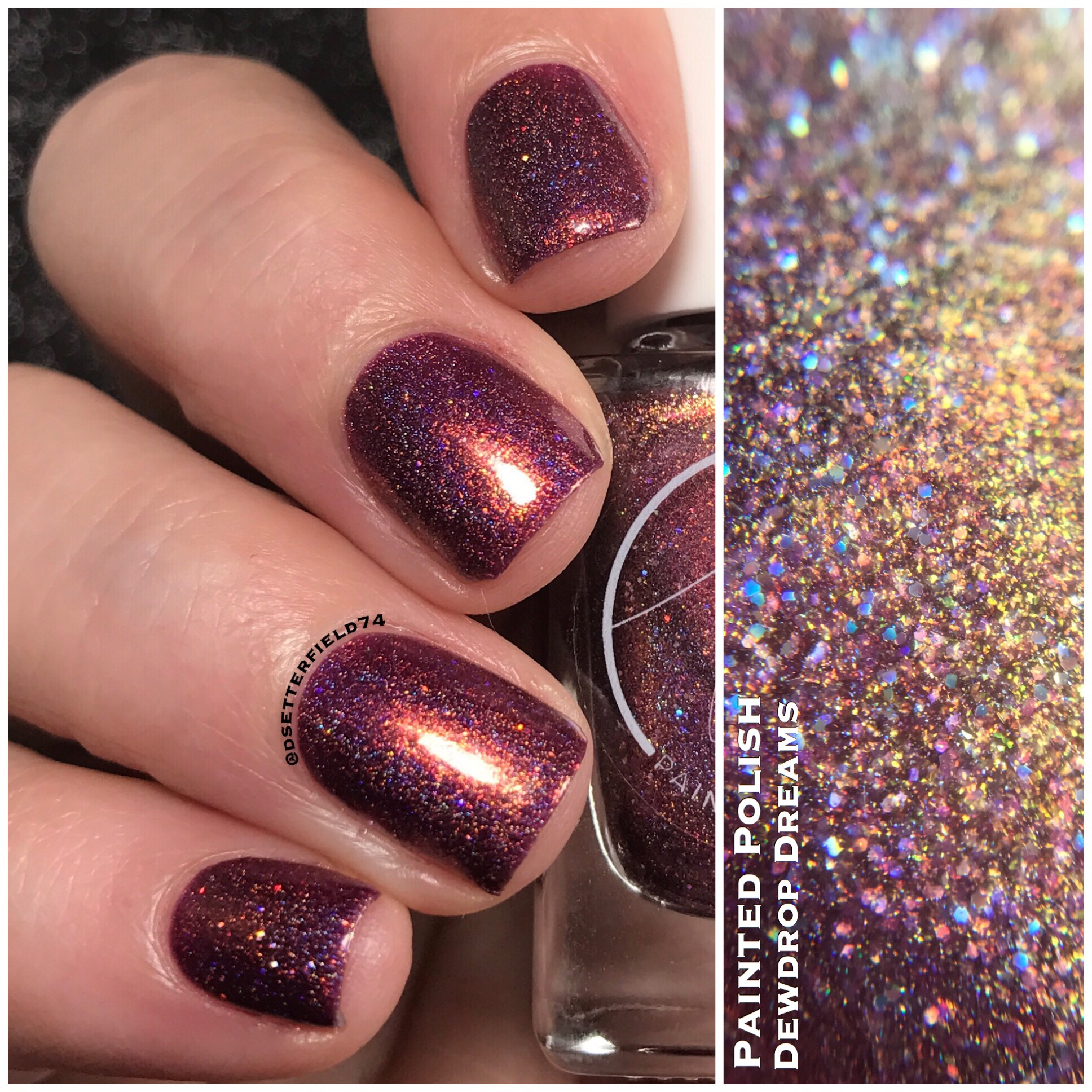 Painted Polish: Hella Holo Customs Trio | Snacks On Rotation
